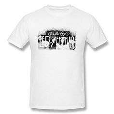 bf99cd2e Amazon.com: Liquid Blue Men's Led Zeppelin Icarus 1975 T-Shirt  (6289424869552): Books