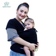 2017 Vente Chaude Bébé Sling Stretchy Wrap Carrier, solide Couleur  Élastique réglable Coton HipseatBackpack pour e9a034ecf79