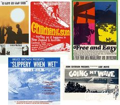 60's movie posters | 60′s Surf Movie Posters | Chris Stroh Photos