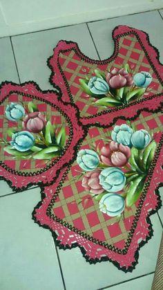 Color Rosa, Floral Wreath, Google, Painting, Design, Decor, Bathroom Mat, Crochet Carpet, Painted Bathrooms