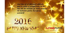 #happy2016 #aprilparts #pieseauto #happynewyear Happy New Year, Blog, Movie Posters, Film Poster, Blogging, Happy New Year Wishes, Billboard, Film Posters