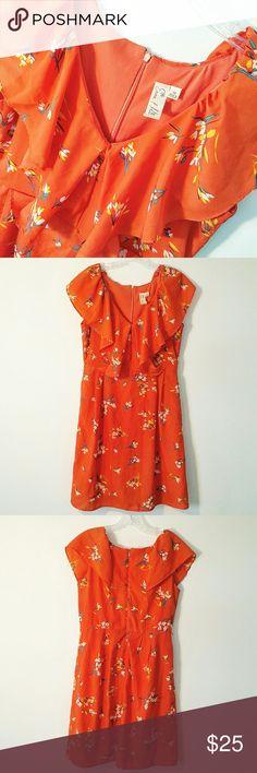 Vintage Hawaiiana Flutter Sleeve Dress Vintage Hawaiiana Flutter Sleeve Dress emma & Michele Dresses