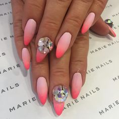 Marie Nails: Pink Ombre