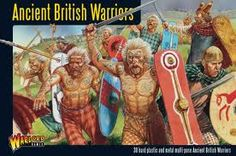 Ancient Celtic Briton warriors combed limewash through their hair and painted themselves with blue woad dye before battle.