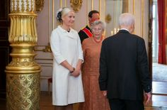12 MAY 2014  State visit from Israel Israeli President Shimon Peres is currently in Norway for an official visit
