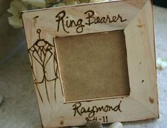 Gift for the Ring Bearer  Personalized with a by PrinceWhitaker, $17.99