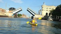 Come enjoy the sites by water as you kayak the Port Huron area.