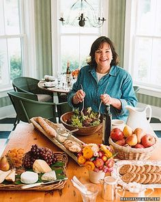 I've always loved to give parties. Ever since my husband and I were married in 1968, I've loved to plan a gathering, cook something really special, and then treat my friends to some wonderful surprise. Those were the days when I had lots of time and my parties were elaborate Saturday -- night dinners, where the food took days to prepare and the table took hours to arrange.Now, like everyone else's, my life is more complicated. I have a specialty food store -- Barefoot Contessa in East…