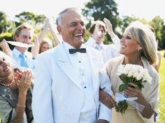 Wedding dress ideas for the older bride.