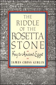 Riddle of the Rosetta Stone The Rosetta Stone is an ancient Egyptian Granodiorite with a decree issued in 196 B.C.