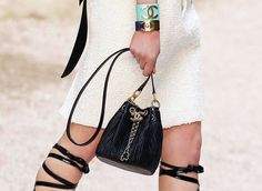 c94219f6279a58 Your First Look at Chanel's Cruise 2018 Bags, Straight from the Ancient  Greece-Inspired