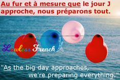 Au fur et à mesure - Lawless French Expression - Learn French