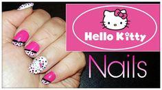 Halli Hallo! Ich habe heute mal ein suuuuper süßes Nageldesign im Hello Kitty-Style für Dich. Das Design habe ich komplett mit Nagellack gearbeitet. Hier erfährst Du Schritt für Schritt, wie Du es nacharbeiten kannst. Viel Spaß! #beauty #beautyblogger #bblogger #vlogger #youtube #makeup #make-up #nails #nägel #nagelpflege #naildesign #nailart #nageldesign #nagellack #hellokitty #nailpolish #drugstore #drogerie #frautamtam #tamtam #tutorial #anleitung #diy #doityourself #selfmade