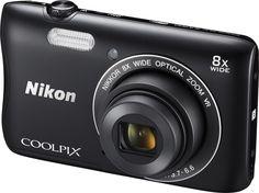 Nikon Coolpix S3700 Silver | MALL.CZ