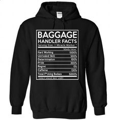 Baggage Handler Facts - #tee ideas #sweater style. GET YOURS => https://www.sunfrog.com/Funny/Baggage-Handler-Facts-5154-Black-Hoodie.html?68278