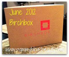 June 2012 Birchbox Box Opening: See what is inside! #Birchbox