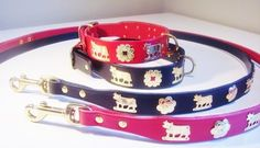 Swiss Handcrafted Dog Collars and Leads