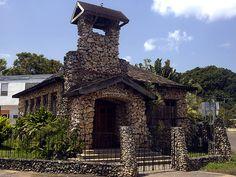 Iglesia de Piedra  Built in 1912 in Camuy Puerto Rico.