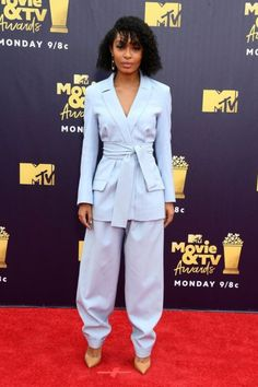 Celebs Pulled Out All the Stops at the 2018 MTV Movie Awards Red Carpet  The red carpet at the 2018 MTV Movie Awards last night was stylish as hell.  Far more casual than other red carpet big hitters like the Oscars or Met Gala the dress code for the MTV Movie Awards has always allowed celebs to bust out their wildest looksspanning fromVictoria Beckhamspleather animal print mini-dresscirca 2007 or Tyler Poseys red onesie with a rear window in 2016. This year celebs brought their A-game in…