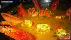 What to Eat this Weekend. Give yourself a treat, why not try this delcious rice dish? Lobster with Rice in a rich seafood soup. Sounds good, doesn't it?  You can try it at Los Naranjos in Melegís, the Lecrín Valley. Make the most of it, as Saturday and Sunday are the last two days of their menu dedicated to rice dishes.  Foodie suggestion from Susan at www.casatagomago.com