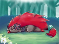 Pokemon Zoroark and Zorua Pokemon Fan Art, Cool Pokemon, Pokemon Stuff, Random Pokemon, Lugia, Pokemon Zoroark, Pokemon Go Cheats, Otaku, Original Pokemon
