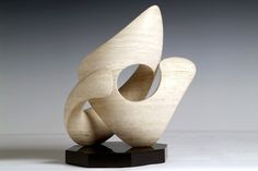 Tao - Richard Erdman Studio - Stone and bronze abstract sculpture of both intimate and monumental scales