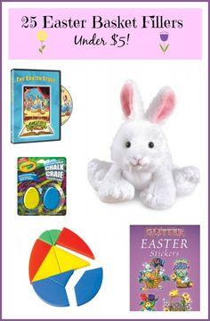 25 Easter Basket Fillers Under $5