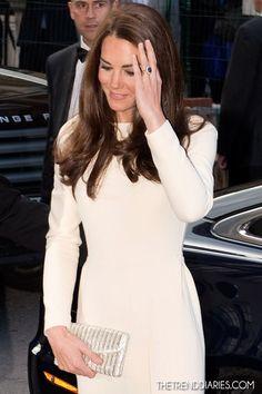 Kate Middleton at Claridges Hotel in London, England - May 8, 2012