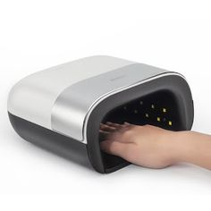 SUNUV SUN3 48W UV Lamp Nail Menicure Led Lamp Nail Timer Invisible LCD Display Infrared Smart 2.0 Nail Dryer Curing All NAIL Gel (32800537251)  SEE MORE  #SuperDeals