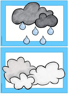 Shared with Dropbox Weather For Kids, Preschool Weather, Weather Activities, Free Preschool, Preschool Worksheets, English Worksheets For Kids, English Activities, Infant Activities, Activities For Kids