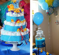 Rubber Duck-Themed Baby Shower Ideas