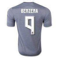 Real Madrid C.F 2015-16 Season BENZEMA #9 Away Soccer Jersey [PF6211548534]