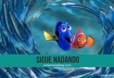 Buscando a Nemo y la aventura de vivir.