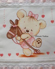 Pintura de ursinha- Marcele Pinturas