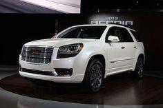 2013 GMC Acadia Denali at the Chicago Auto Show...