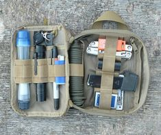 "From a customer: ""EDC Kit using a Maxpedition Fatty. This organizer can hold a lot of useful gear. For my Get Home Bag, or to provide redundancy for my Bug Out Bag."""