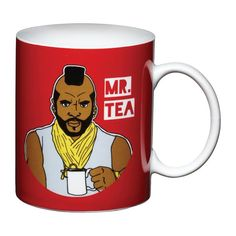 Mr. T drinks earl grey for preference.
