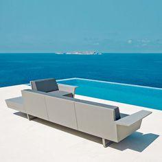 The FLAT Collection by Jorge Pensi Design Studio for VONDOM. #morfae   #vondom   #jorgepensi   #outdoorfurniture   #design