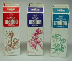 When I was a kid, milk cartons had these nice botanical illustrations.