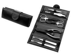 COMPLETE MANICURE PEDICURE SET BY HANS KNIEBES