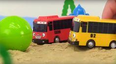 Spielzeugautos - Tayo der kleine Bus - Wir spielen Fußball