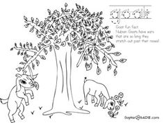 goattree...that would be so pretty for embroidery- #babygoatfarm