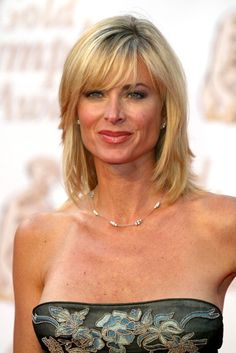 Eileen Davidson during Monte Carlo Television Festival Closing Ceremony Arrivals at Grimaldi Forum in MonteCarlo Monaco Bold And The Beautiful, Gorgeous Women, Celebrity Hairstyles, Wig Hairstyles, Medium Hair Styles, Short Hair Styles, Montecarlo Monaco, Eileen Davidson, Jacqueline Macinnes Wood