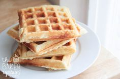 the baker upstairs: the best waffles