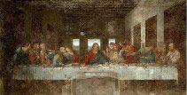 The Last Supper (1498) by Leonardo da Vinci   Oil and Tempera on Plaster