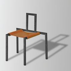 Jeeves stool - design Riccardo Beretta