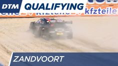 Juncadella erkundet Zandvoorts Sand - DTM Zandvoort 2016 // Daniel Juncadella gets off the track, drives into the gravel and causes a restart of the second qualifying in Zandvoort.