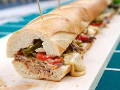 Get Sunny's North Philly Cheesesteak Recipe from Food Network