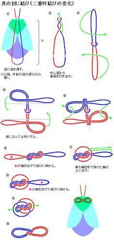 knots-真の封じ結びCross Knot Variation
