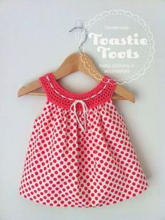 Crochet%20dress,100%%20cotton%20fabric%20by%20Toastie%20Toots%20[